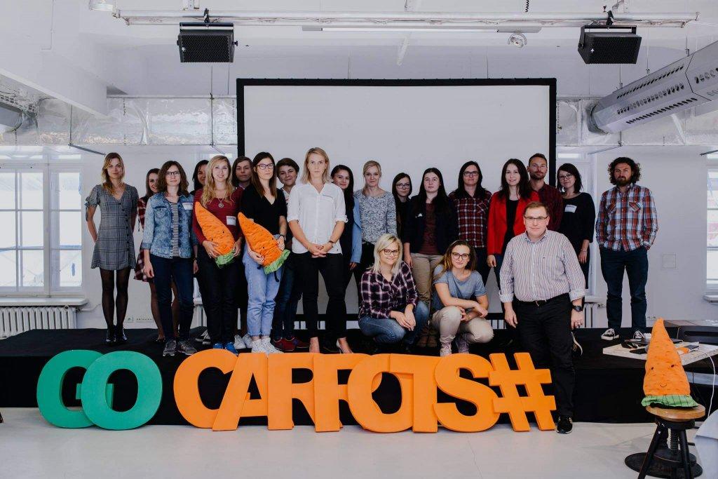 Geek Girls Carrots community