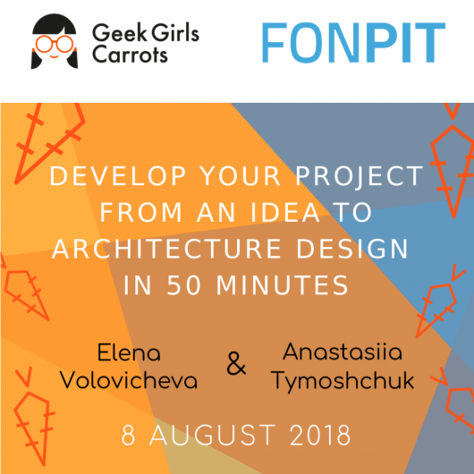 Develop your project from idea to architecture design in 50 minutes