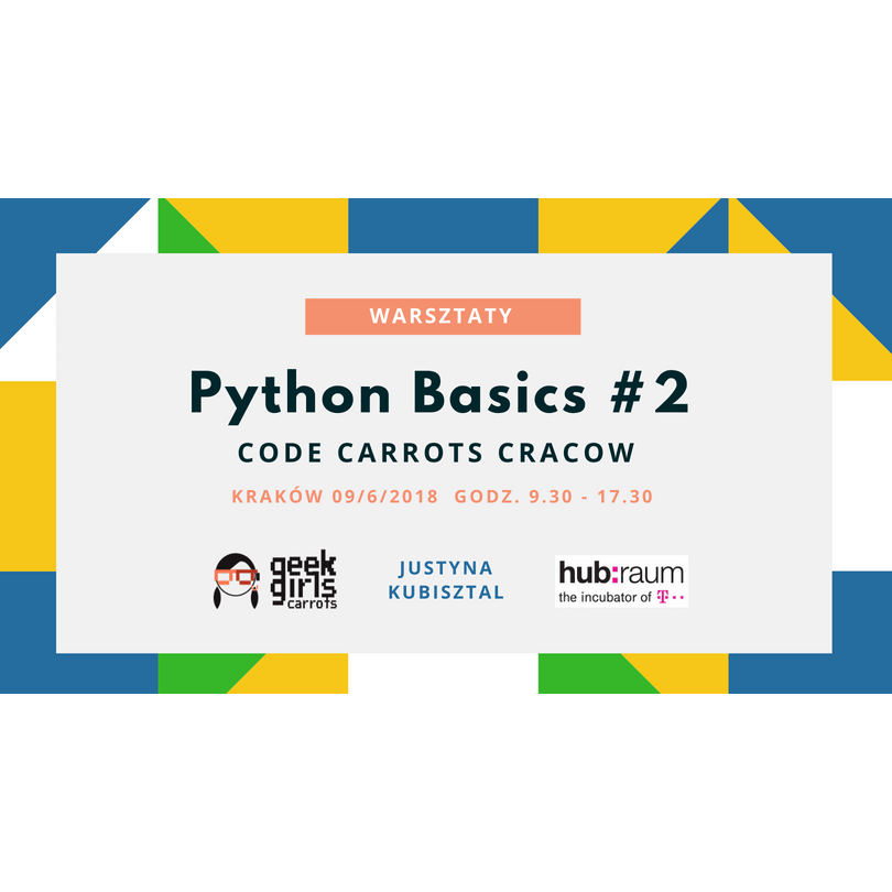 Code Carrots Cracow: Python Basics #2
