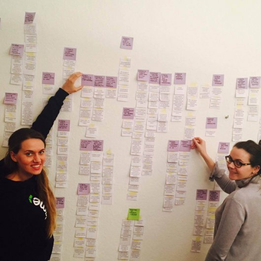 The history of the new website by Basia and Kasia