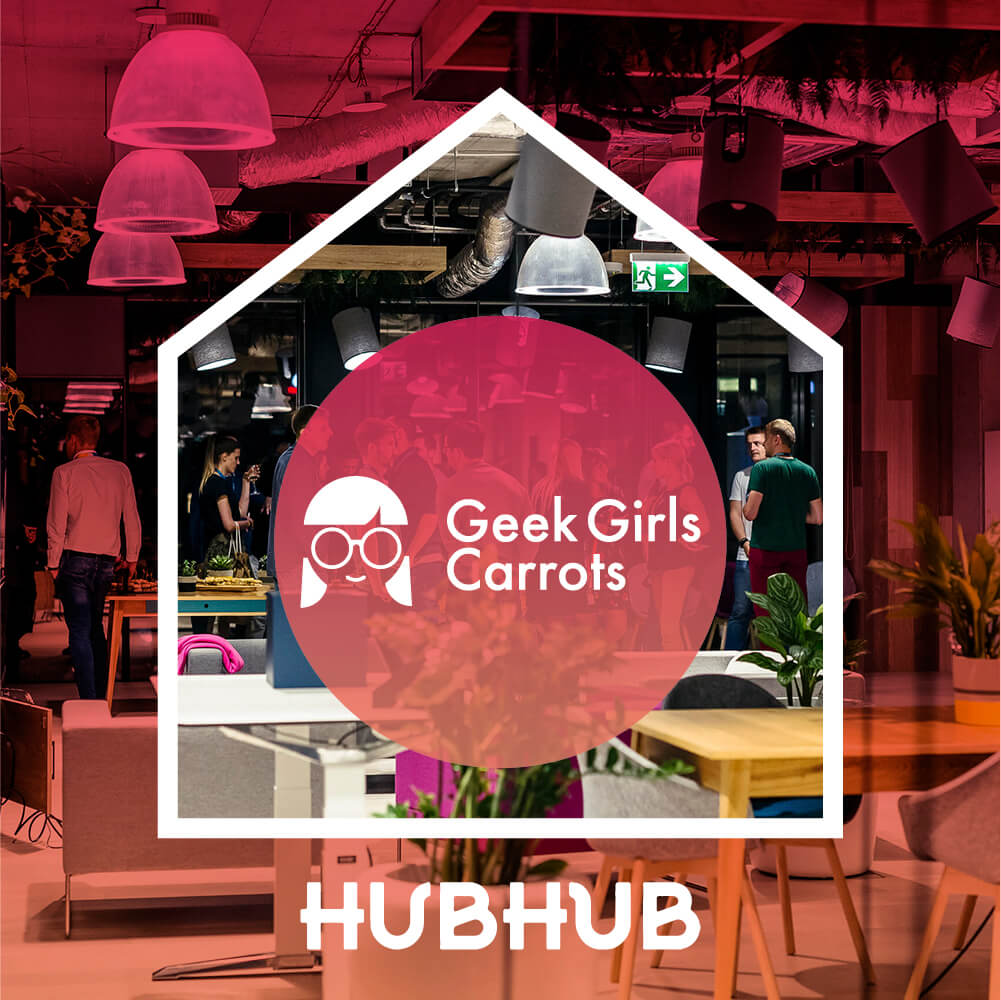 HubHub and Geek Girls Carrots join forces!