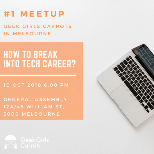 Geek Girls Carrots Melbourne #1