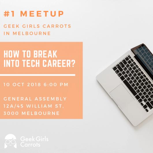 Geek Girls Carrots Melbourne #1
