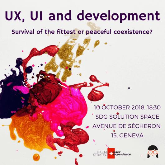 Geek Girls Carrots Geneva #8: UX, UI and development
