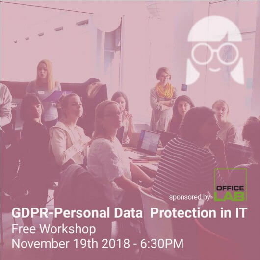 Workshop GDPR with Joanna Mamczur