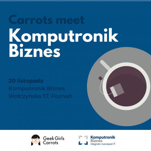 Carrots meet Komputronik Biznes