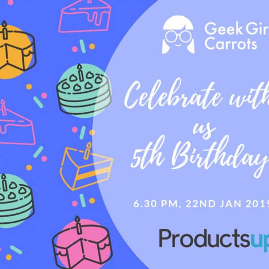 Geek Girls Carrots Germany – 5th Birthday!