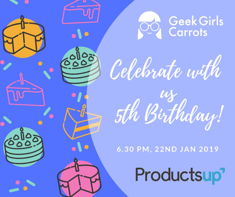 Geek Girls Carrots Germany - 5th Birthday!