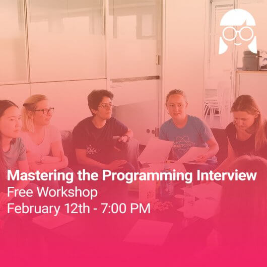 Workshop: Mastering the Programming Interview #9
