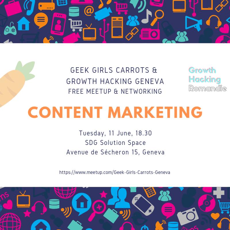 Carrots Geneva: Content Marketing poster