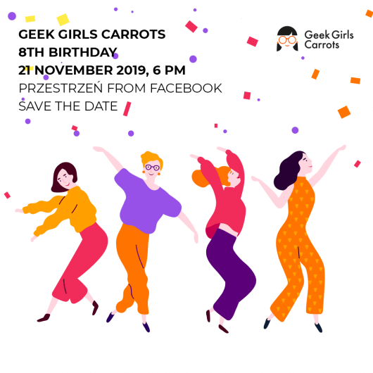 Geek Girls Carrots 8th Birthday