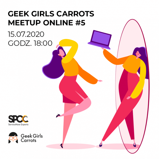 Geek Girls Carrots Meetup Online #5