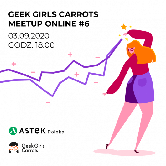 Geek Girls Carrots Meetup Online #6