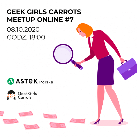 Geek Girls Carrots Meetup Online #7