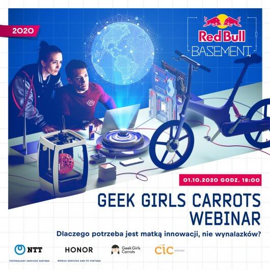 Geek Girls Carrots Webinar: Why necessity is the mother of innovation, not inventions?